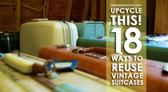 Don't let your vintage suitcases continue gathering dust in your attic! Check…