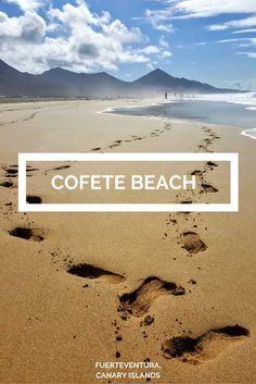 Cofete Beach Fuerteventura - Canary Islands