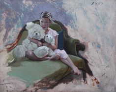 Todd Lachance, Isabelle at Six years of Age, 16 x 20