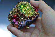 Bracelet by Kinga Nichols at Crimson Frog Designs