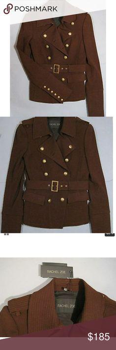 Rachel Zoe military jacket Size 2 perfect condition ...warn Rachel Zoe Jackets & Coats