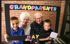 Happy Grandparents Day More More Happy Gra. , Happy Grandparents Day More More Happy Gra. Happy Grandparents Day More Grandparents Day Preschool, Happy Grandparents Day, Happy Mothers, Kindergarten, Preschool Classroom, Preschool Activities, Classroom Ideas, Easy Fathers Day Craft, Grands Parents
