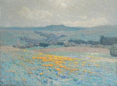 """Granville Redmond 's """"Spring"""" sold for $170,000 at the Aug. 3 sale"""