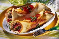 Waffles, Pancakes, Ketchup, Mai, Tacos, Mexican, Ethnic Recipes, Food, Meal