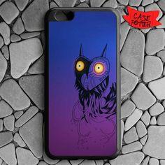 Zelda Majora Mask iPhone 6 Plus iPhone 6S Plus Black Case