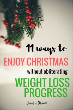 Find out how to stay healthy these holidays. Christmas is a time to enjoy yourself, learn how to without ruining weight loss progress.