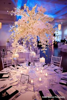 Awe-Inspiring #Wedding #Reception Ideas - http://www.modwedding.com/2013/10/10/wedding-reception-ideas #weddingcenterpiece