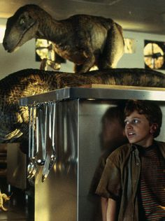 JURASSIC PARK - The first movie to actually deliver real looking dinosaurs.  Well done Speilberg.