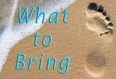 Things to Bring on your Topsail Island Vacation
