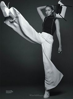 """""""Gigi"""" Gigi Hadid for Vogue Australia June 2015"""