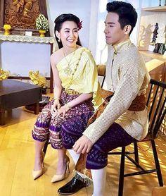 Thai Traditional Dress, Traditional Clothes, Actors Birthday, Love Destiny, Power Couples, Relationship Goals, Thailand, Men's Fashion, Sari