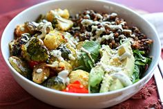 Learn how to create your own Buddha Bowl from dietitian Danielle Omar