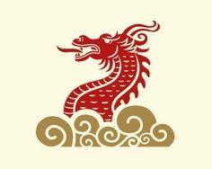 Year of the Dragon Small Dragon Tattoos, Page Layout Design, Dragon Illustration, Dragon Boat Festival, Year Of The Dragon, Dragon Design, China Art, Black Dragon, Chinese Dragon