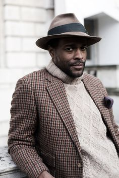 noblecustomclothier:      the man, Guerre! Like the hat, is this called a poets hat?