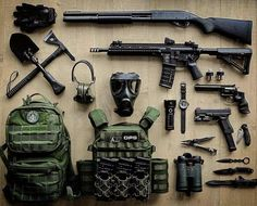 "philosophersdream: ""Zombie Outbreak Kit "" (:Tap The LINK NOW:) We provide the best essential unique equipment and gear for active duty American patriotic military branches, well strategic selected.We love tactical American g Survival Weapons, Apocalypse Survival, Weapons Guns, Survival Tools, Guns And Ammo, Zombie Survival Gear, Zombie Apocalypse Gear, Edc Tools, Tactical Equipment"