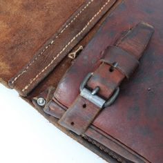 Hacked Leather F07 Muli Bag Detail