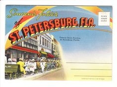 St. Petersburg Florida Vintage Postcard by PicturesFromThePast, $8.25