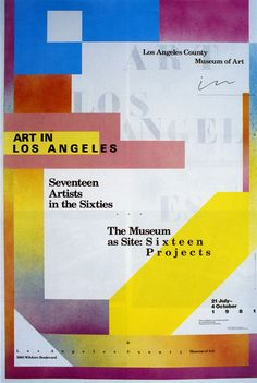 April Greiman, LACMA catalog, 1981: postmodern graphic design