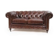 London Vintage Chesterfield Sofa