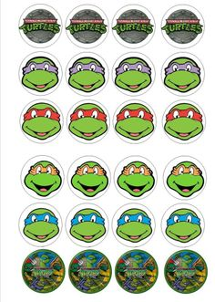 template for ninja turtle mask 4 Ninja Turtles, Ninja Turtle Mask, Teenage Ninja Turtles, Turtle Birthday Parties, Ninja Turtle Birthday, Ninja Turtle Party, 5th Birthday, Gugu, Ninja Party