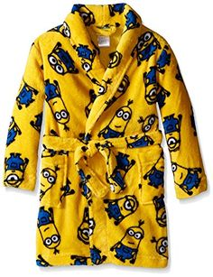 Despicable Me Little Boys' Magic Minions Plush Character Robe * You can find more details at