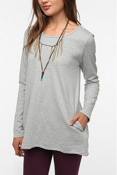 Truly Madly Deeply Tunic Sweatshirt #UrbanOutfitters