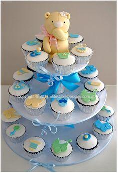 Baby Shower Christening cupcakes Sydney