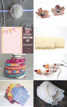 Saturday Finds!! by Fabi C on Etsy--Pinned with TreasuryPin.com