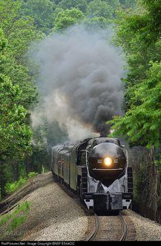 Norfolk & Western #611 during excursion run from Manassas, VA. to Front Royal, VA.