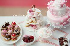 PetitPlat Miniatures by Stephanie Kilgast: Marie-Antoinette Style (and not Gangnam haha... ahem)