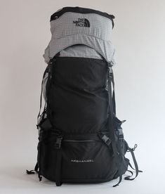 d8127483144 The North Face Archangel Medium Expedition Vintage Backpack Hiking Camping  Gray #TheNorthFace Vintage Backpacks,