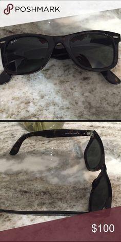 467e43af4cd3c Rayban wayfarer Rayban wayfarer. Never worn Ray-Ban Accessories Sunglasses