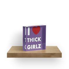 I love thick girlz by cool-shirts 35% off Hoodies & Sweatshirts. 20% off everything else. Use BLKFRIDAY Available as T-Shirts & Hoodies, Men's Apparels, Women's Apparels, Stickers, iPhone Cases, Samsung Galaxy Cases, Posters, Home Decors, Tote Bags, Pouches, Prints, Cards, Mini Skirts, Scarves, iPad Cases, Laptop Skins, Drawstring Bags, Laptop Sleeves, and Stationeries #funny #humor #home #decor #acrylic #blackfriday #sale #purple #girlz