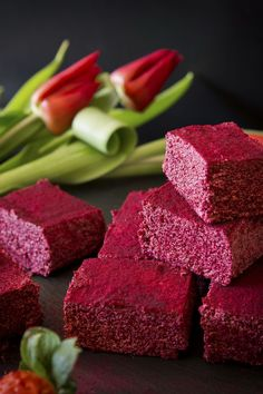 Red Velvet Fudge and Beetroot Lemonade by Deviliciously Raw #raw #vegan