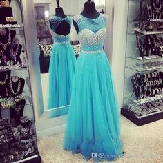 2016 A-Line Special Occasions Evening Dresses Prom Gown Dresses Chiffon With Beads Draped Sleeveless Floor Length Hallow Scoop Neck A-Line Evening Dresses Scoop Neck Party Dresses Bridal Prom Gowns Online with $179.67/Piece on Yahuifang2016's Store   DHgate.com
