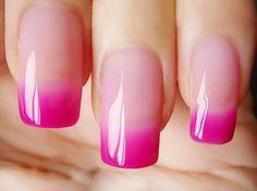 Women Uv Soak Temperature Polish Led Off Gel Perfect Nail Diy Changing Manicure Soak Off Gel Nails, Uv Gel Nails, Gel Nail Polish, Diy Nails, Glitter Nails, Gel Manicure, Acrylic Nails, Spring Nail Colors, Spring Nails