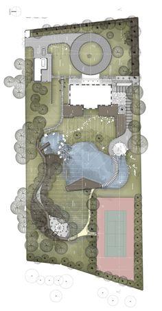 GreenStone Garden - Landscape project by Konrad Wójcik,