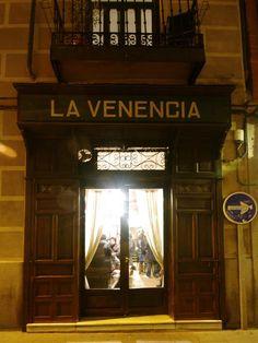 La Venencia, bar à tapas, Madrid (Espagne)