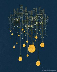 """The Hanging City"" by Tang Yau Hoong (http://tangyauhoong.tumblr.com) $38.00"