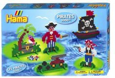 Hama - Pirates (3000 pc) 3211 Shop Online - iQToys.co.nz