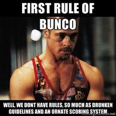 Bunco Rules