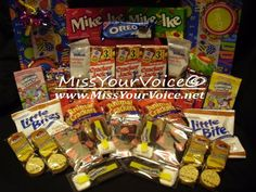 To place an order visit us at www.missyourvoice.net Dont forget to like us on facebook: https://www.facebook.com/MissYourVoiceCarePackages