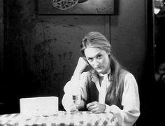 Meryl Streep photographed on the set of 'Kramer vs. Kramer' (Robert Benton, 1979)