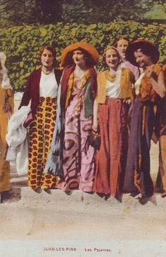 1920s pyjama pants.