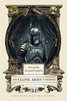 Book Review: William Shakespeare's The Clone Army Attacketh by Ian Doescher