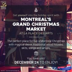 Christmas Activities in Montreal! Montreal Canada, Christmas Activities, News Articles, House In The Woods, Perfect Place, Songs, Blog, Blogging, Song Books