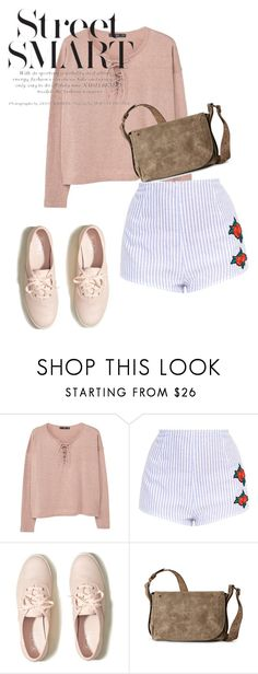"""""""sneakers"""" by masayuki4499 ❤ liked on Polyvore featuring MANGO, Hollister Co. and Steve Madden"""