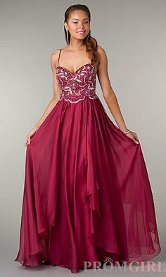 Prom Dresses, Celebrity Dresses, Sexy Evening Gowns - PromGirl: Floor Length Sweetheart Dress