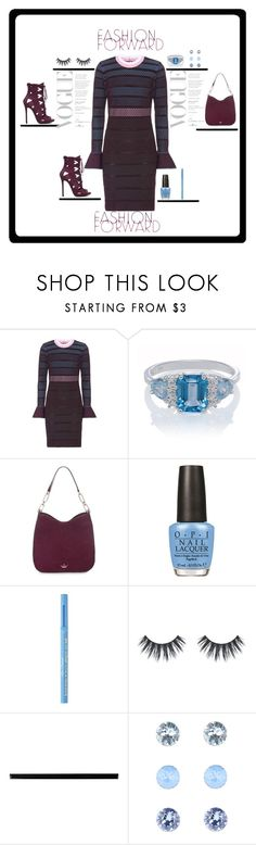 """""""#Fashion"""" by theresagray31 on Polyvore featuring Versace, Kate Spade, OPI, Too Faced Cosmetics, Merola, Accessorize and fall2017"""