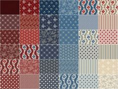 Heritage Reds and Blues Fat Quarter Bundle - Dover Hill - Benartex —  Missouri Star Quilt Co.